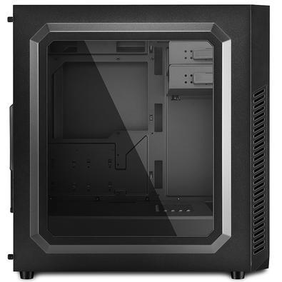 Gabinete Sharkoon Mid-ATX VS7 Window USB 3.0 Preto