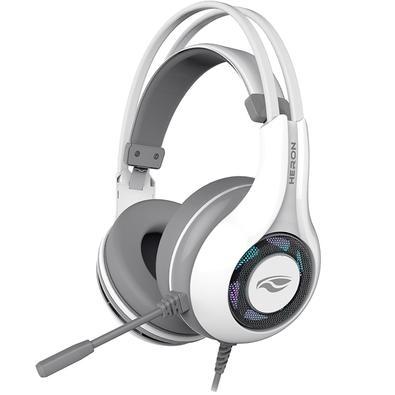 Headset Gamer C3 Tech Heron 2 7.1, USB, Branco - PH-G701WHV2