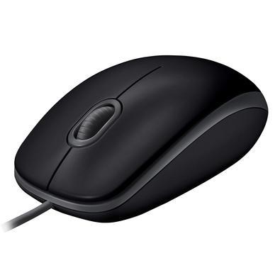 Mouse Logitech M110 com Clique Silencioso Preto - 910-005493