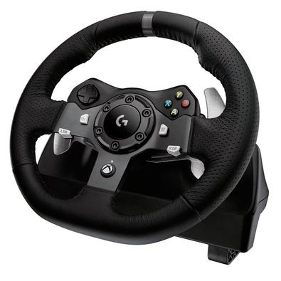 Volante Logitech G920 Driving Force Xbox One/PC + Câmbio Logitech Driving Force Shifter