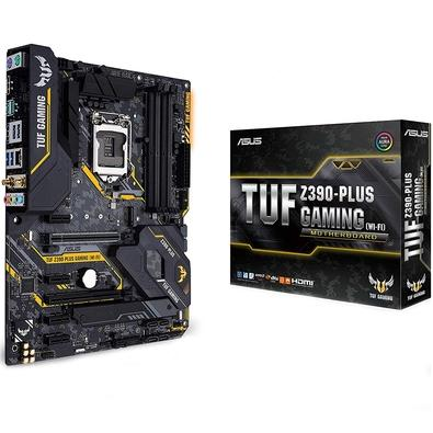Placa-Mãe Asus para Intel LGA 1151 ATX TUF Z390-PLUS GAMING (WI-FI) DDR4