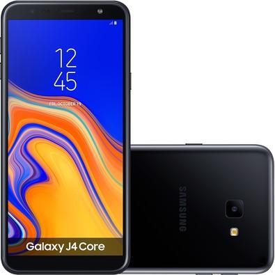 Smartphone Samsung Galaxy J4 Core, 16GB, 8MP, Tela 6´, Preto - SM-J410G/16DL