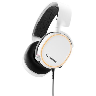Headset Gamer SteelSeries Arctis 5, Branco - 61507