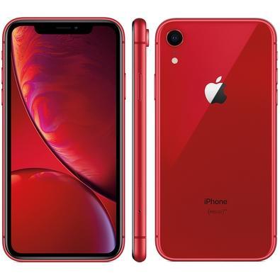 IPHONE XR VERMELHO, 64GB - MRY62