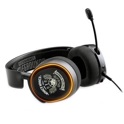 Headset Gamer SteelSeries Arctis 5 PUBG 7.1, USB, Preto - 61510