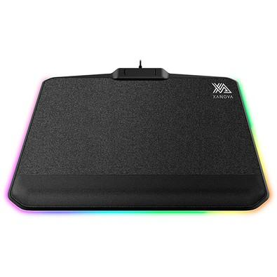 Mousepad Gamer Xanova Phobos Luxe-SR, RGB, Médio (280x342mm) - XP730PS