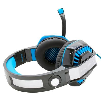 Headset Gamer Husky Snow, USB, 7.1 Surround, LED Azul - HS-HSN-BL