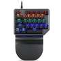 Teclado Mecânico Gamer Motospeed K27 Game Pad, Rainbow, Switch Outemu Blue, US