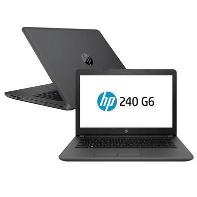 Notebook HP 240 G6, Intel Core i3-6006U, 4GB, 500GB, Windows 10 Pro, 14´ - 5DZ56LA