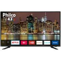 Smart TV LED 43´ Full HD Philco, 3 HDMI, 2 USB, Wi-Fi - PTV43E60SN