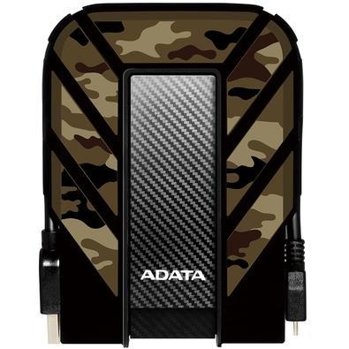 HD Externo Adata Anti-Queda, à Prova D´água, IPX68 Durable HD710 Pro USB 3.2, 1TB, 2.5´, Camuflado - AHD710MP-1TU31-CCF