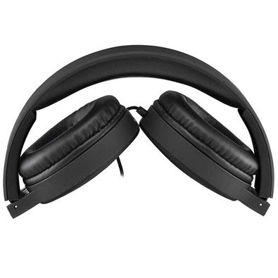 Headphone Multilaser New Fun Wired, P2, Preto - PH268