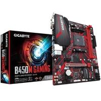 Placa-Mãe Gigabyte B450M Gaming, AMD AM4, mATX, DDR4 (Rev. 1.0)