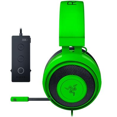 Headset Gamer Razer Kraken Tournament Green - USB