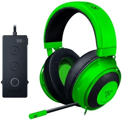Headset Gamer Razer Kraken Tournament Green - USB - RZ04-02051100-R3U1