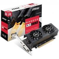Placa de Vídeo MSI AMD Radeon RX 550 4GT LP OC 4GB, GDDR5