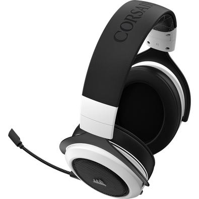 Headset Gamer Corsair HS70 Wireless Carbono, 7.1 Surround, Branco - CA-9011177-NA