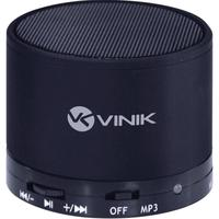 Caixa de Som Bluetooth Vinik MusicBox 3W RMS Preta
