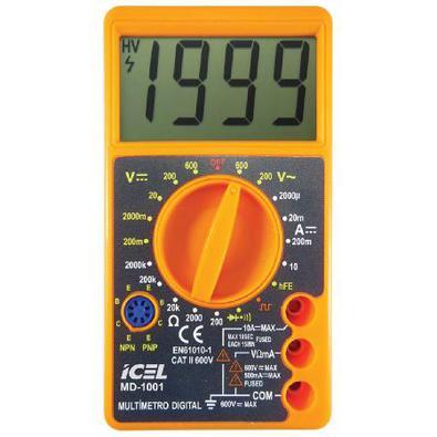 Multímetro Digital Md-1001