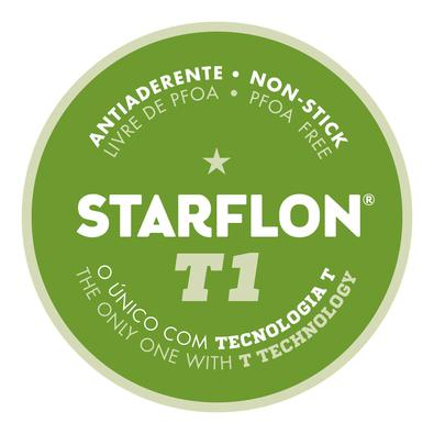 Bistequeira Tramontina Loreto Alumínio Revestimento Antiaderente Starflon T1  22 cm 0,6 L Grafite Tramontina