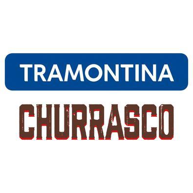 Espeto Duplo para Churrasco Tramontina com Lâmina em Aço Inox e Cabo de Madeira 75 cm Tramontina