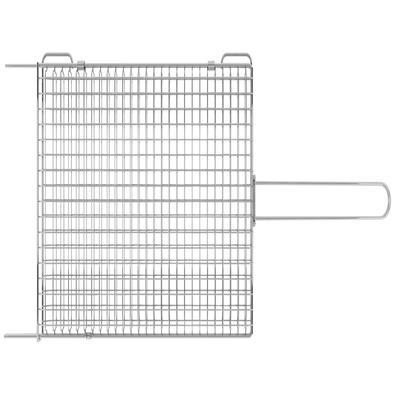 Grelha Tramontina Churrasco em Aço Inox 75,5 x 27 cm Tramontina