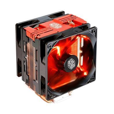 Cooler Para Processador Hyper 212 Turbo Com Led Vermelho - Red Cover - Rr-212Tr-16Pr-R1