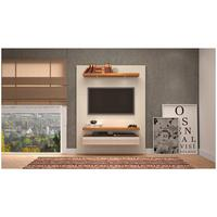Painel com LED para TV de 55 Polegadas 2 Gavetas TB106E Dalla Costa