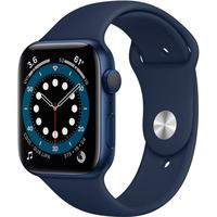Apple Watch Series 6 S6, 44mm, GPS, Alumínio, Pulseira Sport, Azul - B08J5Y89C7