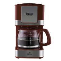 Cafeteira Philco PH16, Inox, Vermelho- 127V