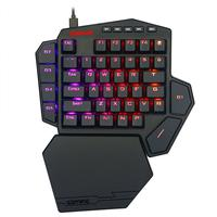 Mini Teclado Mecânico Gamer Redragon Ida Diti, RGB, Switch Outemu Blue - K585