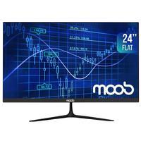 Monitor LED 24'' Full HD MOOB, HDMI, VGA, 75Hz