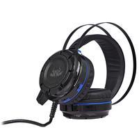 Headset Gamer Knup Bass Vibration 7.1, com Iluminação USB + P2, Microfone, Azul/Preto- KP-417