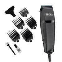 Máquina de Cortar Cabelo e Barba Wahl Easy Cut , 9 Acessórios, Lâminas Autoafiáveis, Preto, 220V