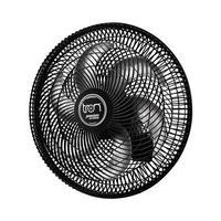 Ventilador De Parede Oscilante Tron Premium 50Cm 130W, Preto, 220V
