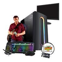 Pc Gamer Completo Core I5 Rx550 8gb Hd500gb Ssd 120gb Wi-fi