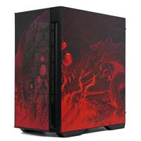 Gabinete Gamer Redragon Infernal Dragon Strafe Mid Tower, Lateral Vidro Temperado, Sem Fan - GC-706IF