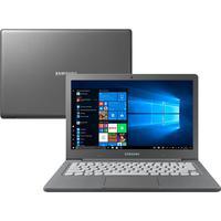 "Notebook Samsung Flash F30 com Processador Intel Celeron N4000, 4MB Cache, 4GB, SSD 64GB, Tela Full HD 13.3"", Windows 10 Home, Grafite"