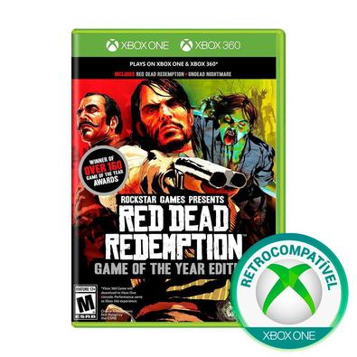 Jogo Red Dead Redemption - Goty - Xbox One - Rockstar Games
