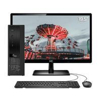 Computador Completo 3green Exclusive Intel Core i3 12GB com SSD 480GB Wifi Dual Band Monitor 19,5´´ HDMI PC CPU