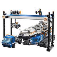 LEGO City - Montagem e Transporte de Foguetes