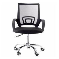 Cadeira Diretor Giratória com Base Cromada Travel Max, Preta