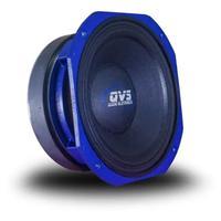Alto Falante 8 Polegadas QVS, 400W RMS, 8 Ohms, Carcaça Azul Linha Premium - 8MGS808