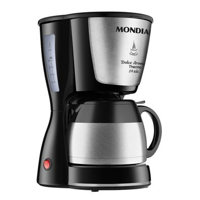 Cafeteira Elétrica Mondial Dolce Arome Thermo C-33JT24X, Inox, 127V