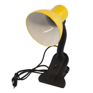 Luminaria De Mesa Garra Articulavel Presilha Haste Flexivel Sala Trabalho Abajur Escritorio