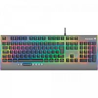 Teclado Gamer Fortrek Mecânico Cruiser, RGB, Cinza Escuro