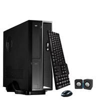 Mini Computador ICC SL2387C Intel Core I3 8gb HD 240GB SSD DVDRW Kit Multimídia WIndows 10