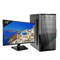 Computador Icc Iv2586swm15 Intel Core I5 3.20ghz 8gb Hd 120gb Ssd Hdmi Full Hd Monitor Led Windows 1