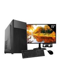 Computador Corporate I3 6gb de Ram Hd 500 Gb Kit Multimidia Monitor 15