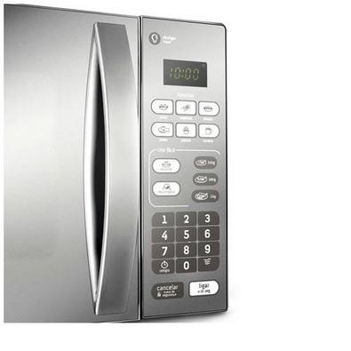 Micro-ondas 20l Consul Com Puxador Na Porta - Cm020bfana Cinza 110 Volts